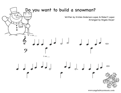 DO YOU WANT TO BUILD A SNOWMAN PRIMER